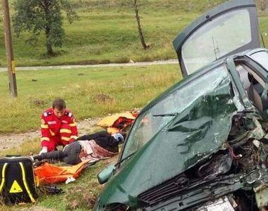 Accident teribil la Cheia. Un TIR a lovit un autoturism in care erau patru persoane