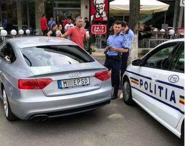 Cum au reactionat politstii cand au vazut masina devenita virala cu numarul care...