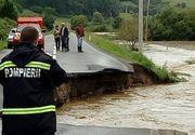 Bilantul dezastrului cauzat de ploile torentiale! Au fost emise 76 de atentionari si avertizari imediate de cod galben si cod portocaliu