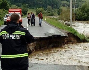 Bilantul dezastrului cauzat de ploile torentiale! Au fost emise 76 de atentionari si...
