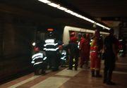 Noi informatii despre barbatul spulberat la metrou. Prima ipoteza a anchetatorilor