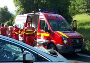 Trafic blocat pe DN1 in Sibiu in urma unui accident soldat cu 3 victime!