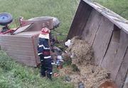 Accident ingrozitor in Calarasi! Un barbat a pierit strivit sub propriul tractor!