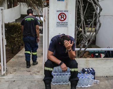 Numai in pielea lui sa nu fii! Drama traita de un pompier in Grecia. Si-a pierdut...
