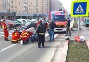 Accident mortal in Vrancea. Un pieton a fost lovit din plin de un tanar care s-a urcat la volan baut si fara permis