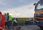 Accident grav in Olt. Doi tineri, de 18, respectiv 23 de ani au murit pe loc