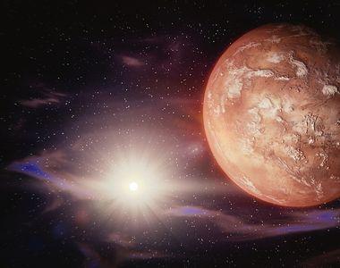Din aceasta noapte, planeta Marte va fi vizibila cu ochiul liber pe cer