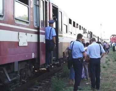 Clipe de groaza in Timis, dupa ce un tanar a fost impins dintr-un tren aflat in mers!
