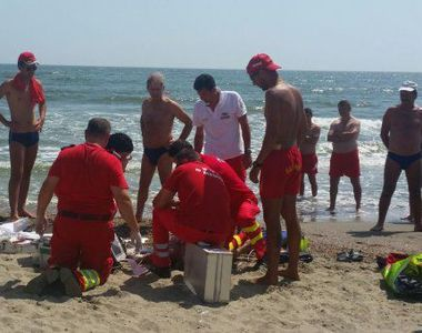 Barbatul disparut ieri in apele marii a fost gasit fara viata! In timpul cautarilor...