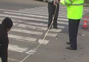 O femeie care traversa regulamentar, accidentata pe DN71! Cine se afla la volanul masinii!