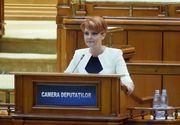 """Lia Olguta Vasilescu, anunt pentru pensionari: """"Cei cu pensii mici pot opta pentru ajutor social"""""""
