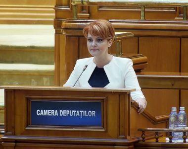 """Lia Olguta Vasilescu, anunt pentru pensionari: """"Cei cu pensii mici pot opta pentru..."""