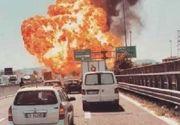 Un roman si-a pierdut viata in explozia din Bologna. Barbatul se afla intr-un TIR, in apropiere de cisterna care a explodat