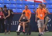 Mihaela Buzarnescu a suferit o accidentare urata in timpul meciului cu Elina Svitolina de la Montreal!