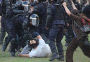 """Avertismentul Jandarmeriei pentru romanii care vin vineri la protest: """"Nu vom tolera astfel de atitudini!"""""""