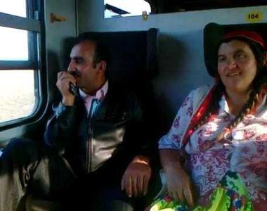 Conductorul unui tren risca sa fie dat afara dupa ce le-a spus unor romi sa coboare la...