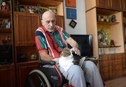 """Toma Pradatu, oficialul federatiei de gimnastica impuscat in 1998, si-a sarbatorit ziua de nastere. """"Duce de 20 de ani intr-un carucior cu rotile povara nemeritata a unei clipe de maxima demnitate"""""""