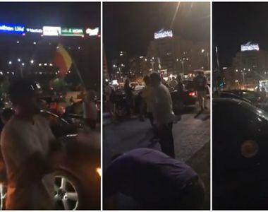 Mii de romani sunt asteptati astazi in Piata Victoriei! Primele masini cu protestatari...