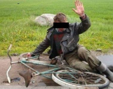 Recordul anului, pe bicicleta…4,35 mg/l alcool pur in aerul expirat. Barbatul din...