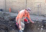 Un muncitor din Barlad era sa arunce orasul in aer dupa ce a perforat o conducta de gaz!