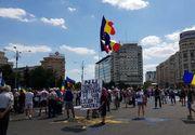 Femeia care i-a socat pe protestatarii din Piata Victoriei! De ce a fost luata de jandarmi din mijlocul multimii VIDEO