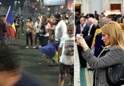 """O celebra prezentatoare tv, victima violentelor din Piata Victoriei: """"Sunt un om care respira cu un singur plaman"""""""