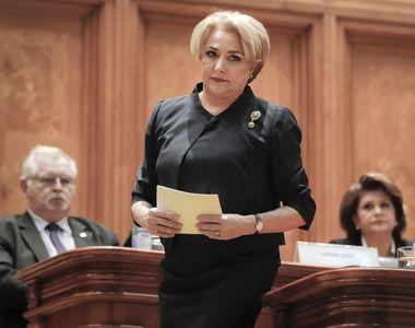 Viorica Dancila, prima reactie despre violentele din Piata Victoriei. Premierul se afla...