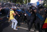 """Cotidianul german Die Welt despre protestele de la Bucuresti: """"Imagini sumbre dintr-o tara care va prezida peste tarile UE, incepand din ianuarie 2019"""""""