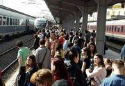 Toate trenurile din tara vor avea intarzieri de circa doua ore din cauza unui accident. Care sunt cele mai afectate rute