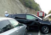 Accident cu noua victime in apropiere de Drobeta Turnu Severin. Patru persoane au ajuns la spital, dintre care doi copii
