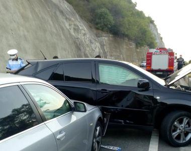 Accident cu noua victime in apropiere de Drobeta Turnu Severin. Patru persoane au ajuns...