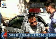 Primele imagini cu soferul baut care a spulberat copiii intr-un parc din Galati. Barbatul a fost arestat preventiv