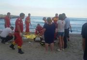 Barbatul disparut in mare la Mangalia a fost adus la mal. Din nefericire nu a mai putut fi salvat