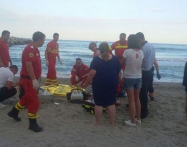 Barbatul disparut in mare la Mangalia a fost adus la mal. Din nefericire nu a mai putut...