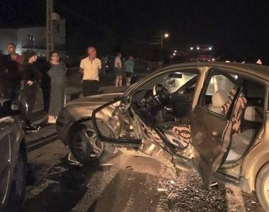 Accident deosebit de grav, noaptea trecuta, in Bistrita! Autoritatile au numarat 7...