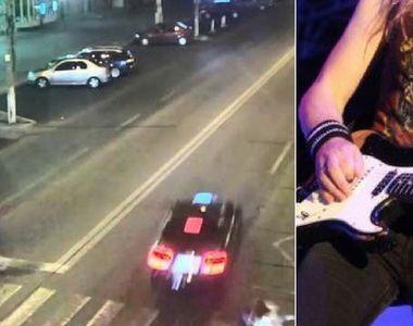 Accident in Galati! Chitaristul unei trupe rock, lovit de o masina in timpce traversa...