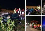 Grav accident in judetul Timis! Doi adulti si patru copii au fost grav raniti din cauza unui sofer beat