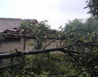 Furtuna a facut ravagii in Valcea! Traficul feroviar a fost blocat dupa ce mai multi...