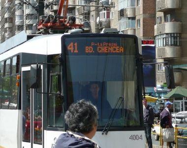 "Anunt de ultima ora al RATB! ""Linia 41 de tramvaie va fi suspendata!"""