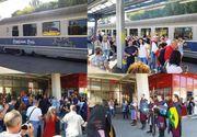 Vacanta de vis in Transilvania! Peste o suta de turisti au avut parte de o primire calduroasa dupa o calatorie cu trenul!