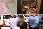 Femeia care si-a abandonat fetitele de un an, respectiv 4 ani, retinuta de politisti. Unde a fost gasita si care este starea copilelor