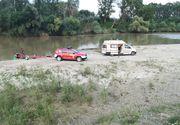 Copilul din Neamt disparut in Siret a fost gasit! A fost gasit plutind la 500 de metri de locul disparitiei