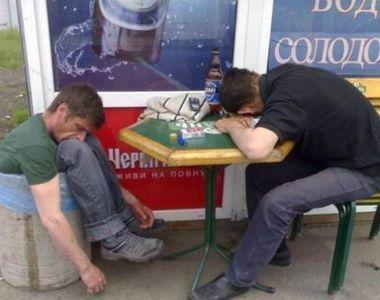 Barbatii romani, campioni la consumul de alcool! Verdictul a fost dat de cercetatorii...