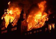 Imaginile dinaintea declansarii incendiului din Oradea! Motivul ar fi un scurtcircuit la instalatia de iluminat