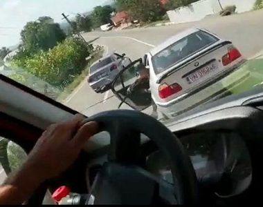 O sicanare in trafic s-a terminat cu un atac in stil mafiot, pe o sosea din Vrancea