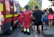 Un copil care mergea pe trotuar a fost spulberat de o masina, in Constanta