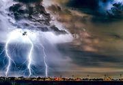 Meteorologii au actualizat avertizarea cod galben de furtuni, reducand la 23 numarul judetelor vizate