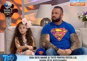 Superman de la Sibiu si fiica sa, Alessia, mai fericiti ca niciodata!