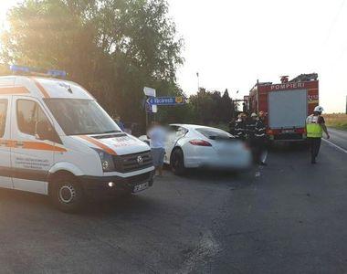 Accident in Dambovita! O mireasa, tatal si socrul ei au fost raniti