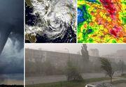 Un ciclon puternic loveste, astazi, Romania! Avertismentul de ultima ora din partea meteorologilor